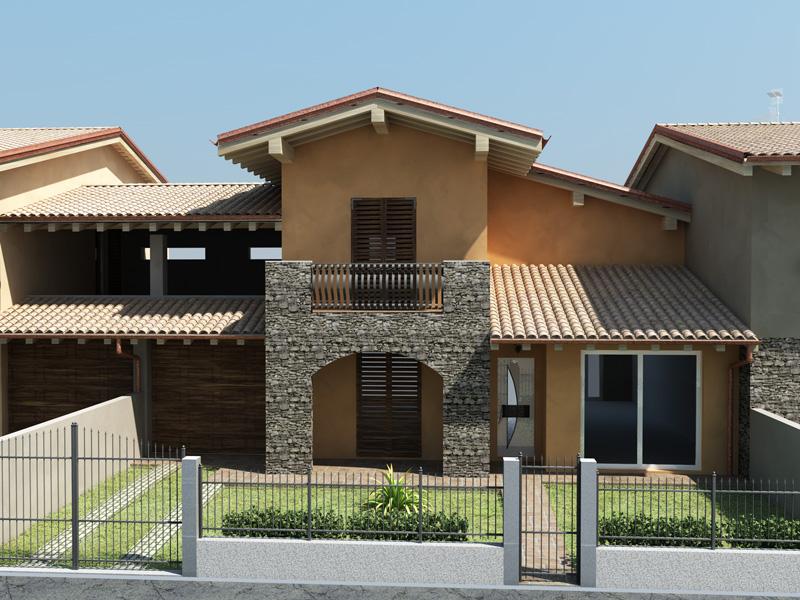 Villette immobili roccafranca immobiliare societ for Prospetti ville